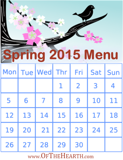 Spring 2015 Menu | What's for dinner in my house during spring 2015? Menu items range from flavorful balsamic chicken orzo to a zesty Italian sausage skillet.