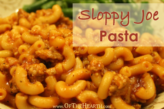 Sloppy Joe Pasta recipe | If you're looking for an affordable dish with a family-friendly flavor, then give Sloppy Joe Pasta a try. It's an easy-to-prepare, yummy one-pot dish.