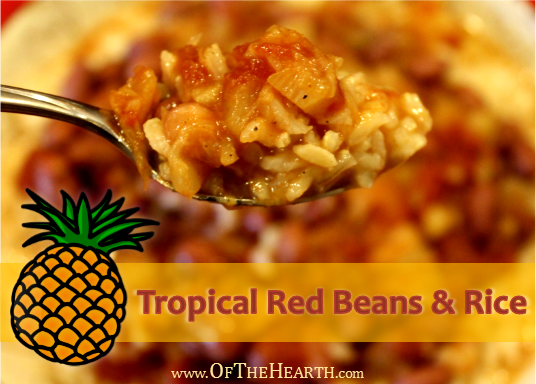 Tropical Red Beans and Rice recipe | Easy-to-prepare Tropical Red Beans and Rice makes a flavorful, hearty meal. At just $0.70 per serving, this nutritious dish is very affordable!