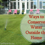 Ways to Conserve Water Outside the Home