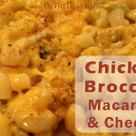 Chicken Broccoli Macaroni and Cheese