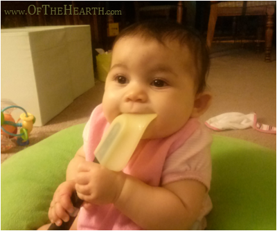Household Items that Double as Baby Toys - Spatula