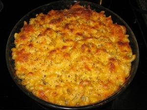 Italian Tomato Macaroni and Cheese - Summer 2015 Menu