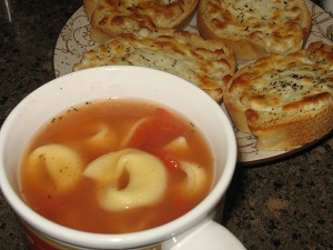 Tortellini Tomato Soup - Summer 2015 Menu