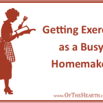 Getting Exercise as a Busy Homemaker