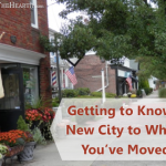 Getting to Know a New City to Which You've Moved