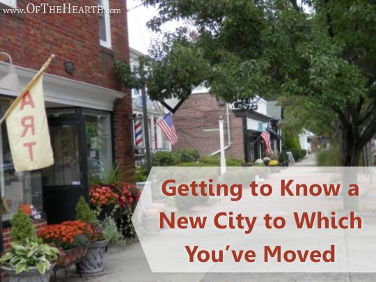 There's so much to learn when you move to a new city! Here are 6 simple strategies for getting to know your new area so you can connect with the community.