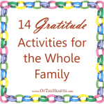 14 Gratitude Activities for the Whole Family