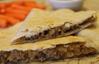 Cheeseburger Quesadillas - Fall 2015 Menu