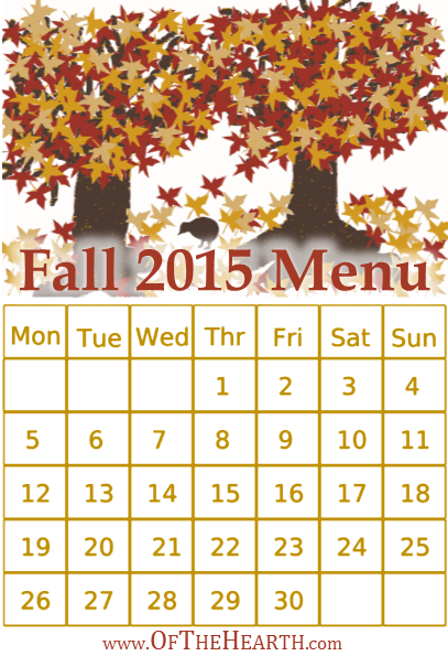 Fall 2015 Menu | What's for dinner in my house during fall 2015? Menu items range from hearty King Ranch chicken to a zippy lasagna skillet.