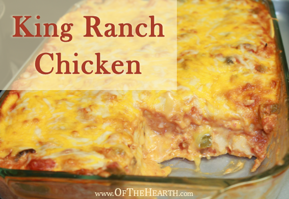King Ranch Chicken recipe | King Ranch Chicken embodies the taste of south Texas. When made from scratch, this creamy, cheesy casserole is affordable and has an unbeatable flavor.