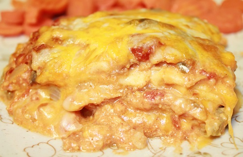 King Ranch Chicken | King Ranch Chicken embodies the taste of south Texas. When made from scratch, this creamy, cheesy casserole is affordable and has an unbeatable flavor.