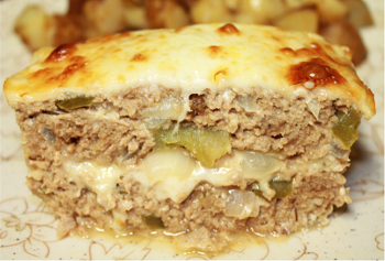 Philly Cheese Meatloaf - Fall 2015 Menu