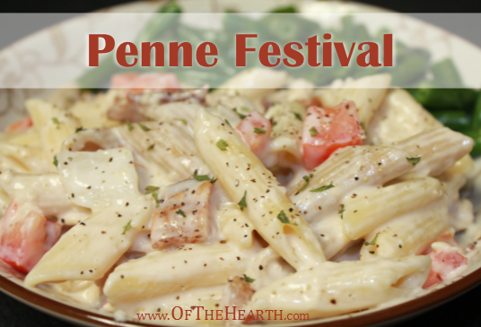 Penne Festival recipe | If you enjoy sophisticated flavors but don't have time for a complicated recipe, then you'll love Penne Festival. It is rich and savory, but easy to prepare.