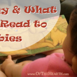 Why and What to Read to Babies