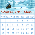 Winter 2015 Menu