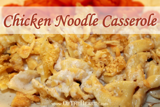 Chicken Noodle Casserole recipe | Chicken Noodle Casserole is comforting and hearty. It's also affordable and easy to prepare, so you'll be glad when your family names it as a favorite.
