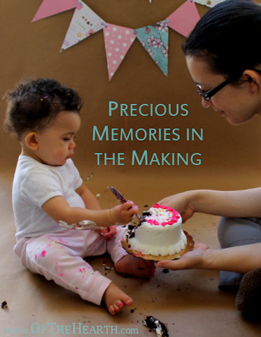 Precious Memories in the Making