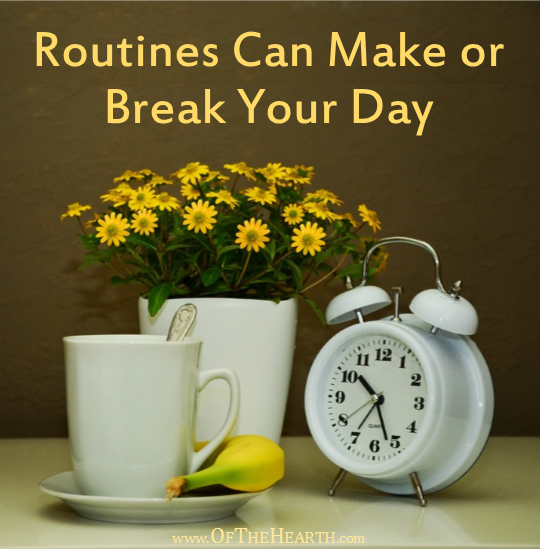 Routines are essential for having a peaceful, productive home. Here's why these rhythms that add structure and stability to your day are so critical.
