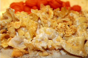 Chicken Noodle Casserole - Winter 2015 Menu