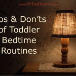 Dos and Don'ts of Toddler Bedtime Routines