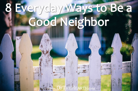 "For many of us, the term ""neighbors"" doesn't conjure up the feelings of warmth, cooperation, and solidarity that it once did. How can we change this?"