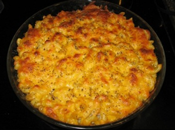 Italian Tomato Macaroni and Cheese - Spring 2016 Menu