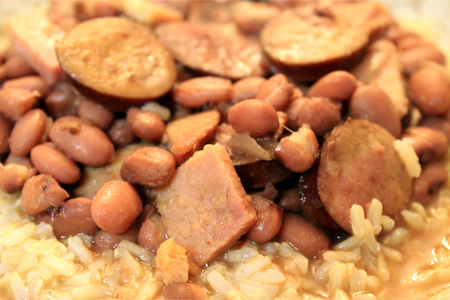 Slow Cooker Red Beans and Rice | Conveniently prepared in a slow cooker, this recipe for Red Beans and Rice yields a flavorful, affordable dish that you will want to make again and again.