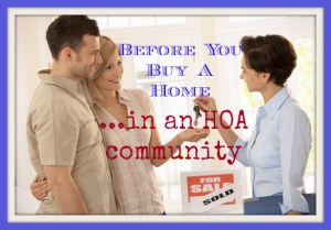 Before You Buy In an HOA Community - Chillogical