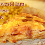 Southwest Ham and Cheese Quiche