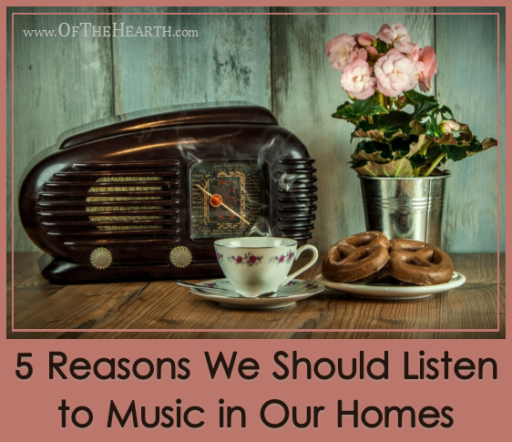 5 Reasons We Should Listen to Music in Our Homes