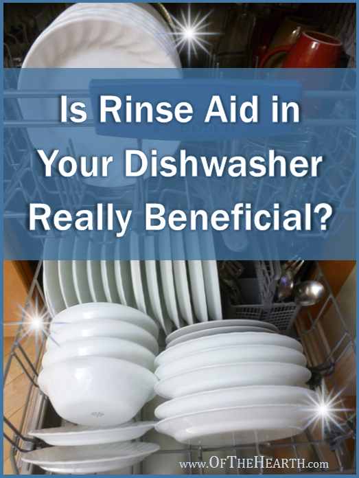 Is Rinse Aid in Your Dishwasher Really Beneficial?