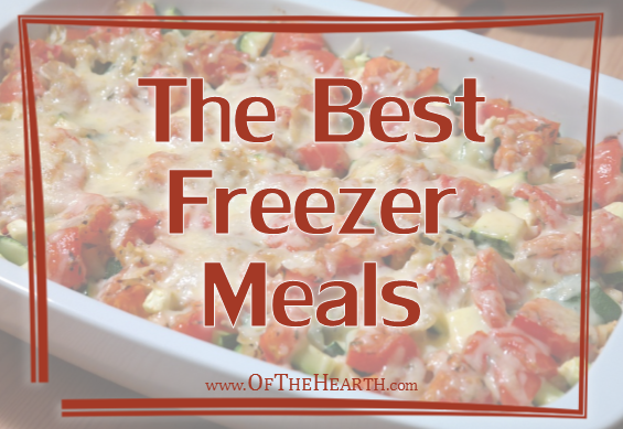 The Best Freezer Meals