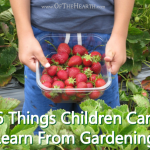 6 Things Children Can Learn From Gardening