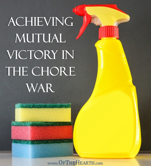 Many couples experience conflict when deciding who should complete which chores around the house. How can couples achieve mutual victory in the chore war?