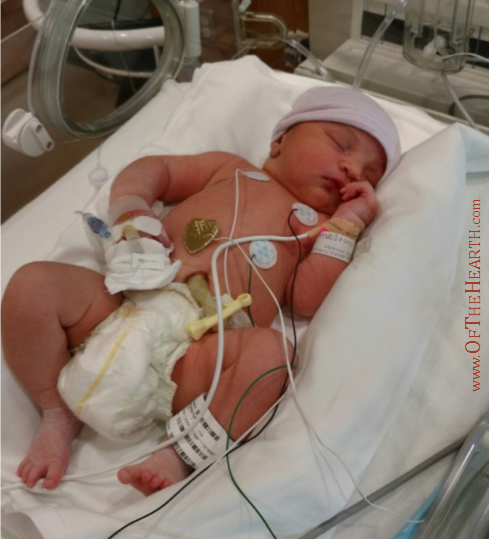 Nitara Irene in the NICU