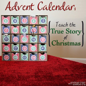 Advent Calendar - Sweeter than Sweets