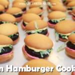 Fun Hamburger Cookies