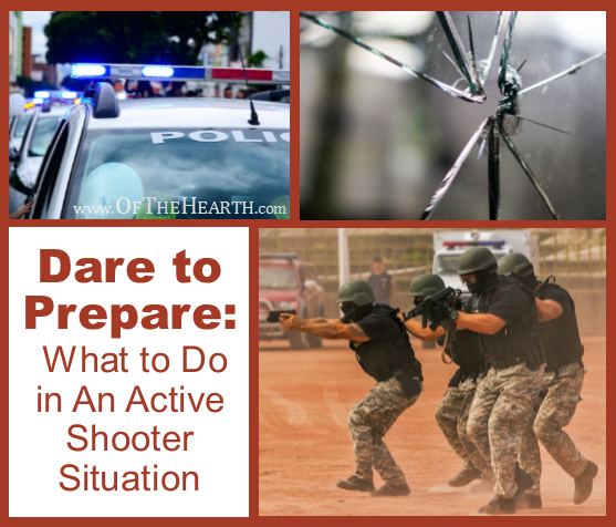 Dare to Prepare: What to Do in An Active Shooter Situation