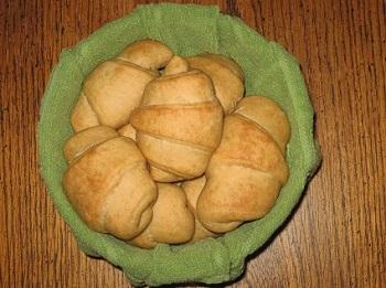 Honey Wheat Butterhorns - Best Recipes
