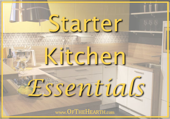 The kitchen is one place where it is easy to amass a wealth of unneeded items, so here are the things you need for a simple, yet perfectly functional kitchen.