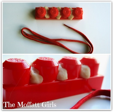 Play Dough and Block Flossing - The Moffatt Girls