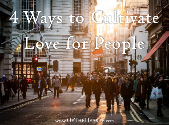 Do you grow irritated when you see people act rudely and without regard for others? Here are 4 ways to feel love instead of frustration in these situations.