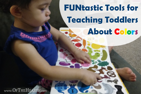 There are many fun and useful resources available to help us teach our toddlers about colors. Here are a few of my favorites.