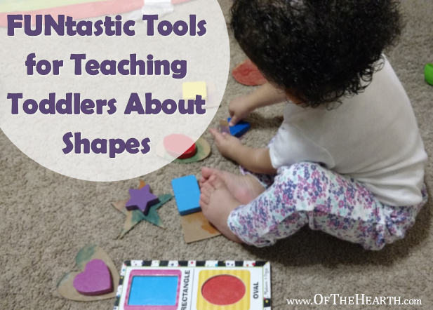 FUNtastic Tools for Teaching Toddlers About Shapes