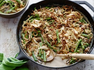 Best Ever Green Bean Casserole from Alton Brown of the Food Network
