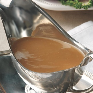 Cider Gravy from EatingWell