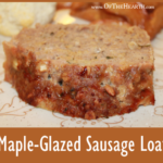 Maple-Glazed Sausage Loaf