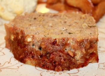 Maple-Glazed Sausage Loaf - Winter 2016 Menu