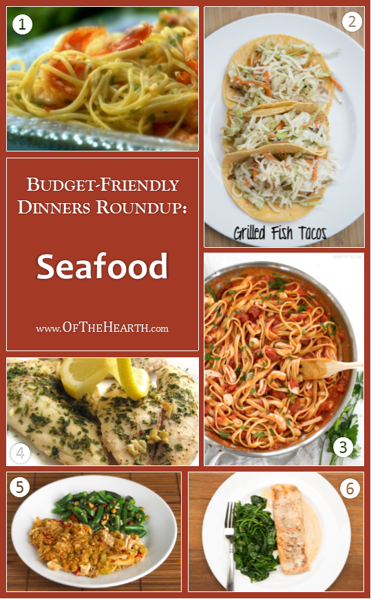Budget-Friendly Dinners - Seafood